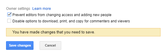How To Kick Someone Out of a Google Doc