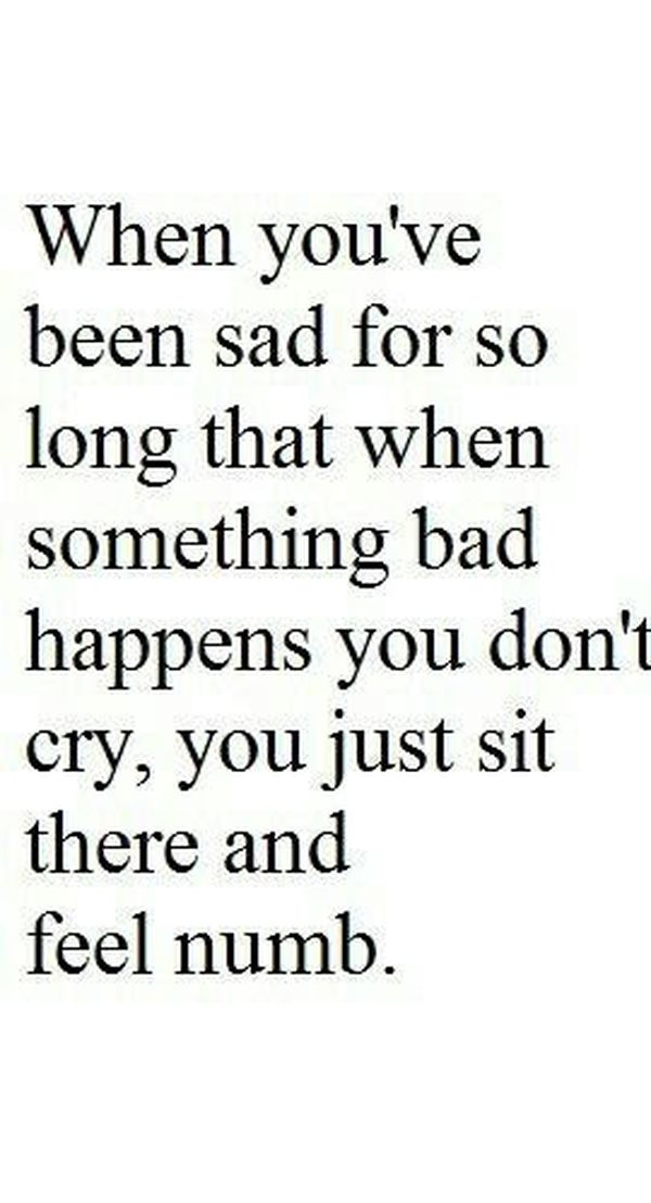 Really sad quotes