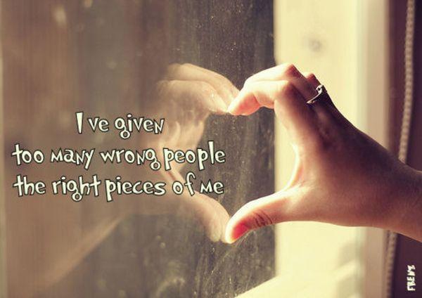 Sad love quotes girls