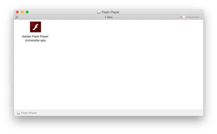 adobe flash uninstaller mac