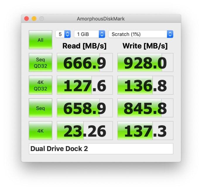 owc drive dock usb-c speeds raid