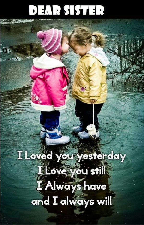 Sisters love quotes pics