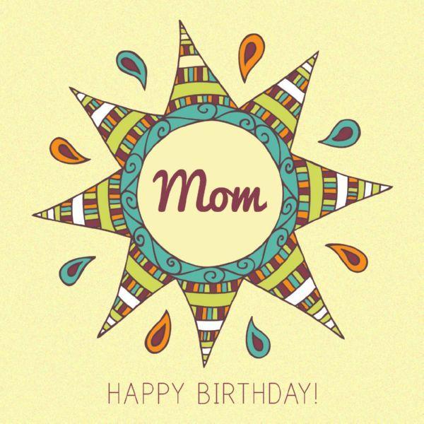 Happy Birthday Mom Quotes 5