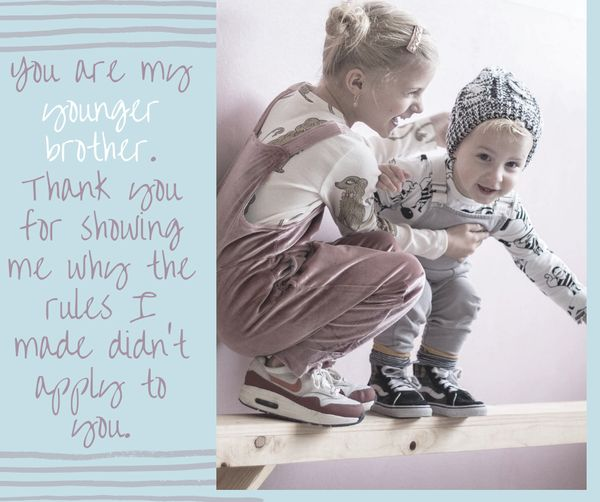 Cute Sibling Quotes 1