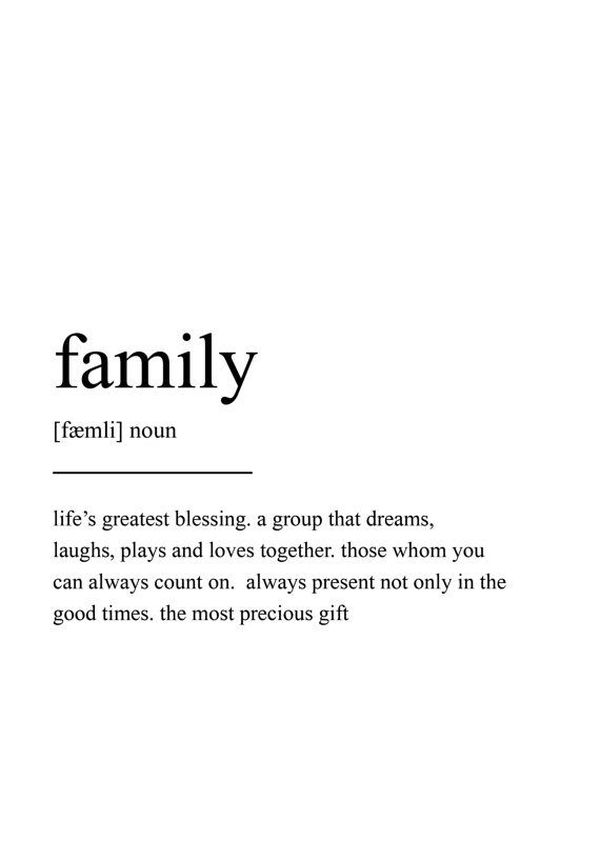 Family Quotes, Famous Sayings about Family Love