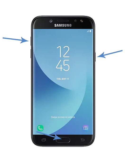 Samsung Galaxy J5 Forgot PIN Password