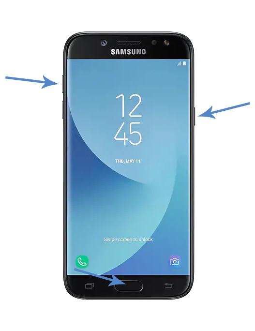 Samsung Galaxy J5 Forgot PIN Password