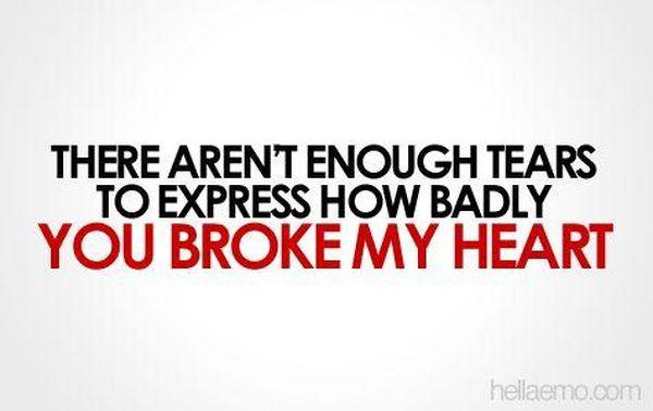 broken heart quotes 1
