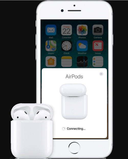 iPhone How to Reset Airpods