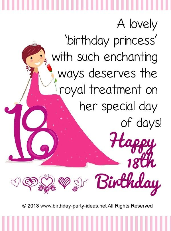 Birthday Wishes For A Daughter Turning 18