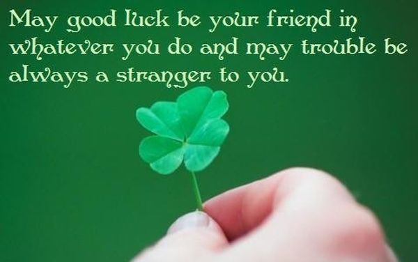 Good Luck Phrase with Positive Quotes