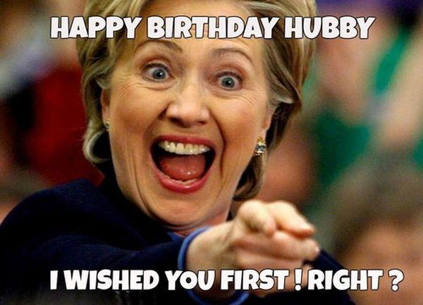 Funny Happy Birthday Husband Meme 4