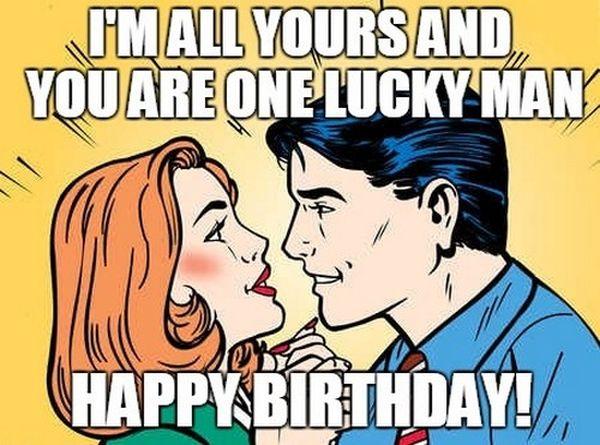 Funny Happy Birthday Husband Meme 5