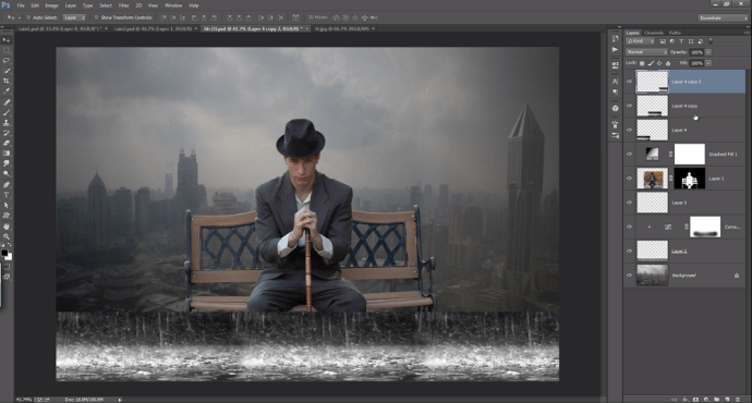 Gentleman in The Rain