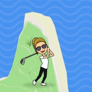 Golf-Actionmoji