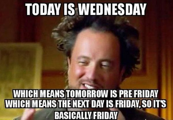 Fun Wednesday Job Meme 1