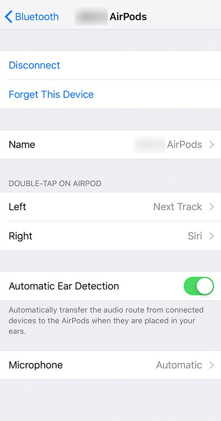 How to Change AirPod Name