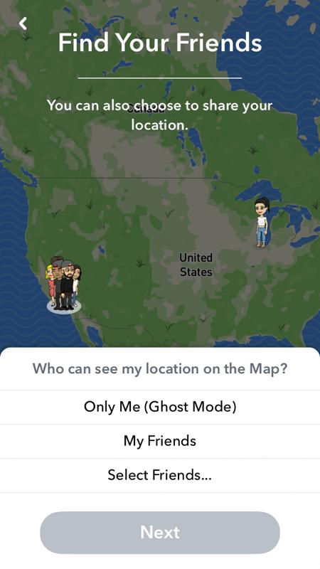 Snapchat Haritası'nda Nasıl Kaybolur?