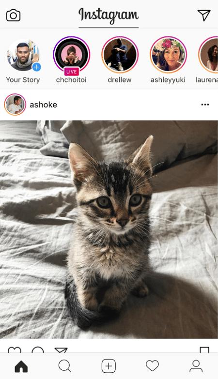 Instagram Order Of Stories
