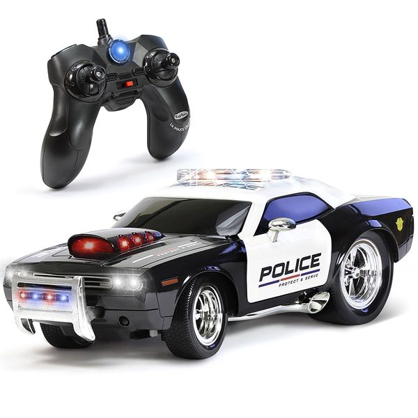 KidiRace Police Car