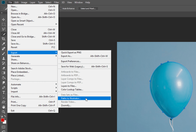 Photoshop Turn Image into a Vector Image