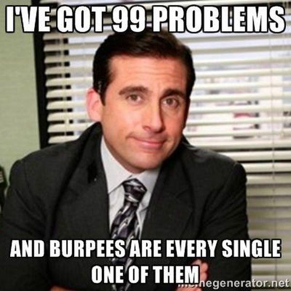 Saturday workout meme 3