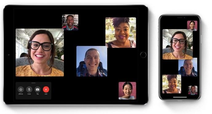 Screenshots FaceTime