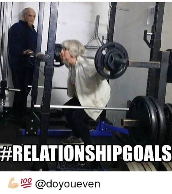 Training partner - meme of your relationship in the gym 5