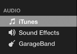 add music imovie
