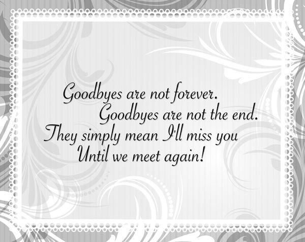 goodbye wishes 1