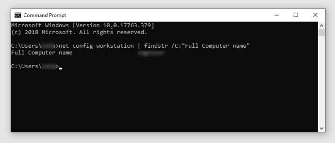 full Computer name