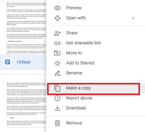 how to add a file to google folders