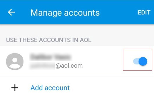 how to stop aol sign in