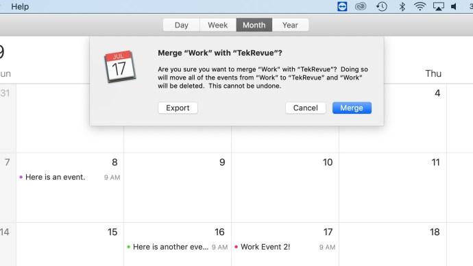 merge icloud calendars confirm