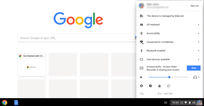 Disable Keyboard on Chromebook
