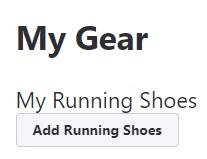 strava Añadir zapatillas de running