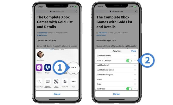 rearrange share menu icons iphone