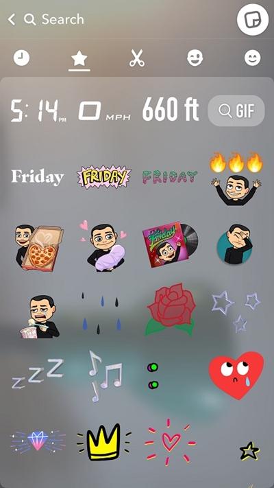 Все фильтры Snapchat