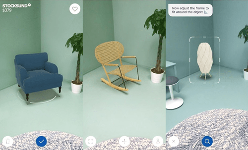 Augmented reality app for android