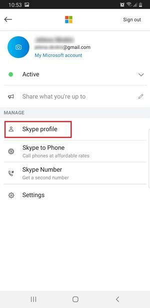 Change Skype Name