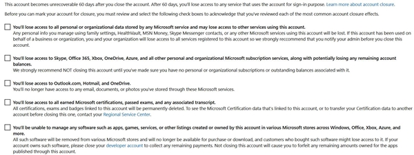 Delete Your Hotmail Account Permanently