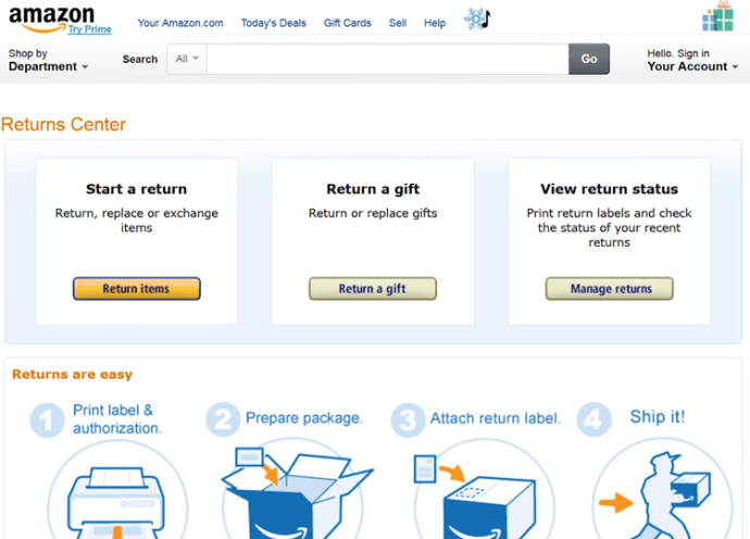 Does Amazon Notify You of Gift Return