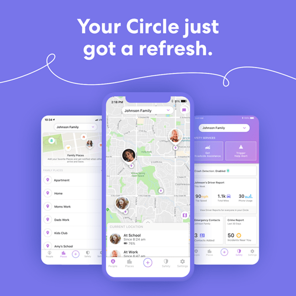 Life360 notifies you to leave