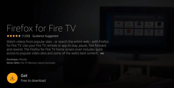 Firefox on FireTv