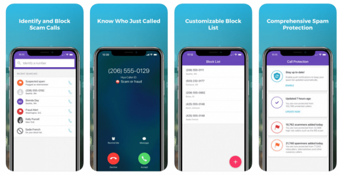 Hiya caller ID and block