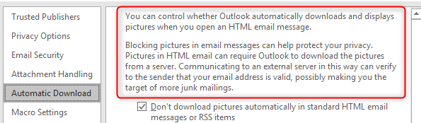 How to Download Images in Outlook