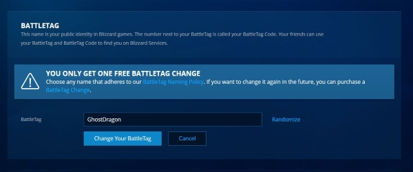 How To Change Your Overwatch Username