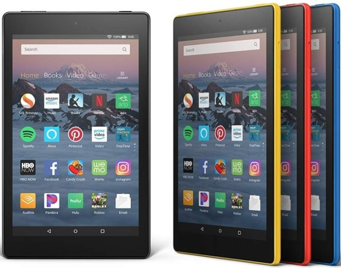 How to update app on kindle fire