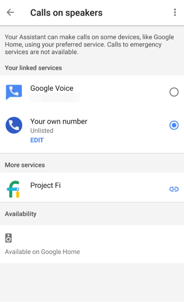 Message From Google Home