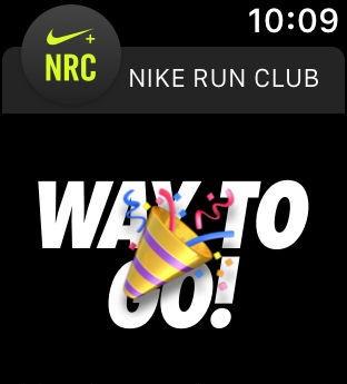 Nike Run Club Cheer